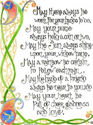 Celtic Blessing 2 by Artwyrd