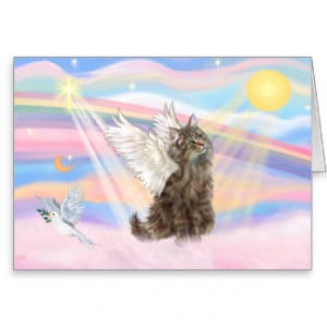 Cat Memorial Cards And More