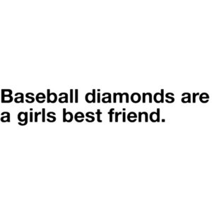 cute baseball quote~ shelby(: