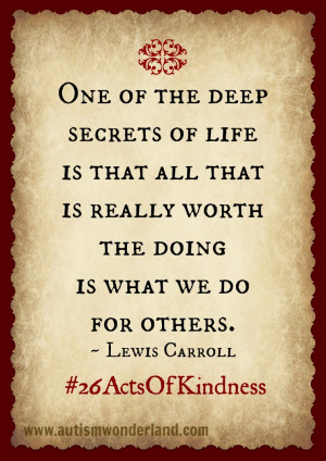 Simple Act of Kindness Can Go a Long Way #26ActsOfKindness