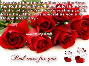 Happy roseday