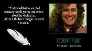 Robert Plant & quote
