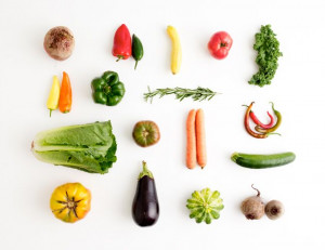 beautiful farm fresh produce
