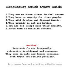 Abuse how narcissistic men women 5 Signs