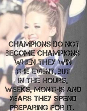 Cute Cheerleading Quotes