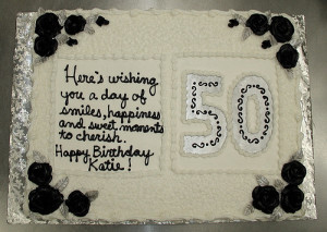 Birthday Cake Decoration Ideas » 50th Birthday Cake Decoration Ideas