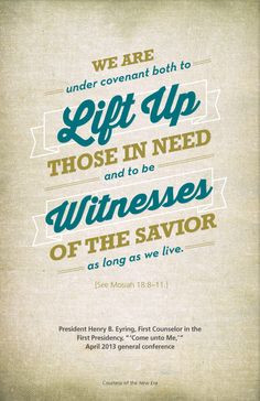 What a great quote! Pretty much sums up our baptismal covenant! More
