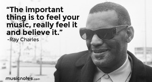 Quotes by Ray Charles