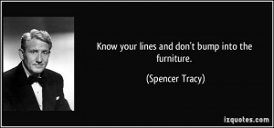 More Spencer Tracy Quotes