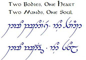 READ ONLY-Official TENGWAR Transcriptions (and TATTOOS) - II