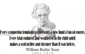 William Butler Yeats and his famous quote