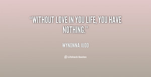 Nothing without You Quotes