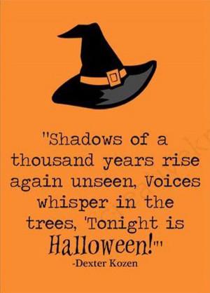 Famous Halloween Quotes. QuotesGram