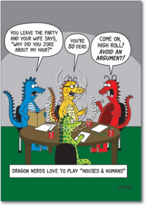 Dungeons And Dragons Adult Humor Birthday Greeting Card Nobleworks
