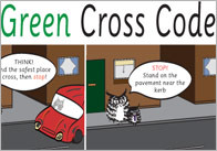 Green Cross Code Posters