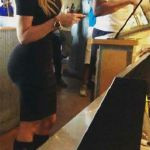 Khloe Quotes Sir-Mix-A-Lot While at Chipotle With Harden (Photos)