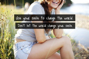 girl, quotes, smile, text