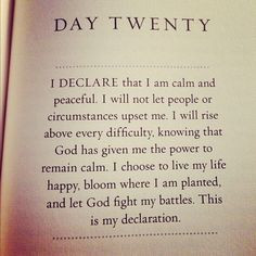 ... life quotes remember this declaration remain calm christian quotes