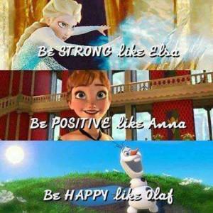 Inspirational Disney Frozen Quotes