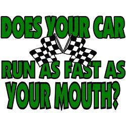 Race Car Sayings Funny