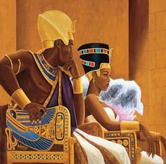 Egyptian Kings and Queens | For thousands of years Africans were Kings ...