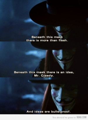 9gag:Ideas Are BulletproofLOVE THIS MOVIE SO MUCH. And he's right :D