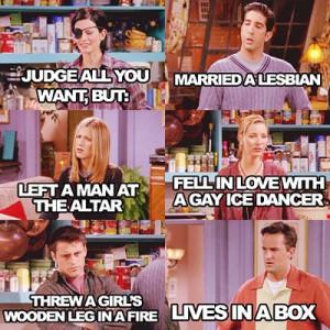 20 notes · #FRIENDS #Monica Geller #Ross Geller #Rachel Green #Phoebe ...