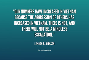 Lyndon Johnson Vietnam War Quotes