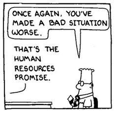 Dilbert Human Resources II More