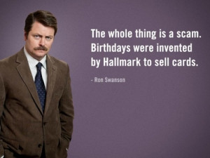 Birthdays | Ron Swanson