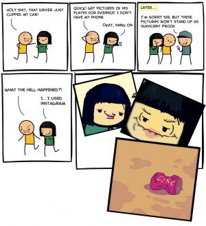 Comic illustration by Dave McElfatrick, Cyanide & Happiness ...