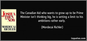 The Canadian kid who wants to grow up to be Prime Minister isn't ...