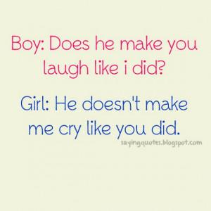 Boy does he make you laugh like i did?