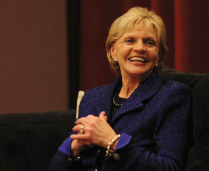 Former Gov. Bev Perdue speaks on leadership, 'The Little Engine That ...