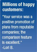 Millions of happy customers: Individual Health Quotes was a positive ...