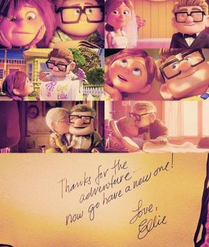 ... notes 1 year ago up una aventura en altura # up # true love # couple