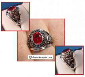 Rings for Royal Marines Commando or Parachute regiment are