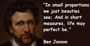 Ben jonson quotes 5