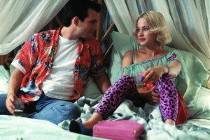 Still of Patricia Arquette and Christian Slater in True Romance (1993)