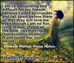 Depression Quotes and Sayings About Depression - HealthyPlace #bipolar ...