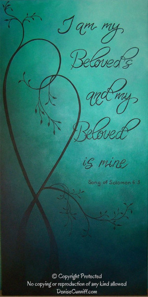 , teal painting,personalized art,teal wedding art,inspirational quote ...