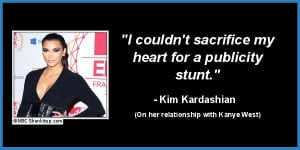 Kim, we already know your heart is as pure as gold .