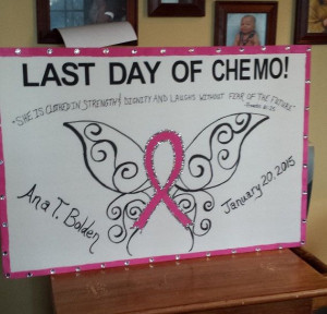 ... person's name and last day date. Breast Cancer Awareness Chemo This is