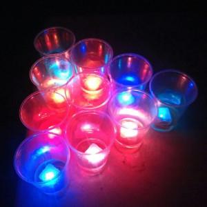 black light party #beer pong #cierragrace