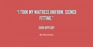 SHIRI APPLEBY QUOTES