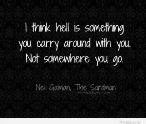 Neil Gaiman – Hell Quote