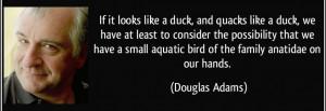 Douglas Adams - genius, hero, and inspirational curmudgeon