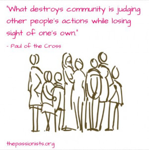 judging others is dangerous!