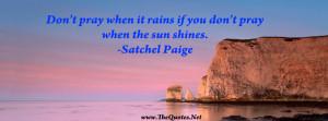 Satchel Paige Quote