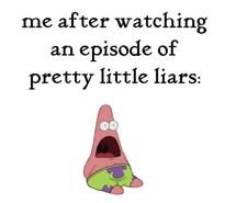 funny, love, patrick star, pll, pretty little liars, quote, serie ...